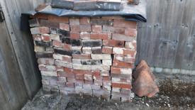 Reclaimed bricks approx. 340 no.