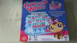 Jeu 'Guess Who Littlest Pet Shop Edition' (négociable)