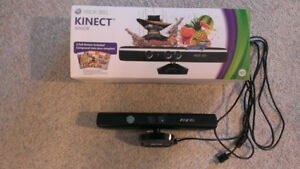 Xbox 360 Kinect In Box PERFECT WORKING MINT CONDITION