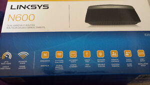 Linksys dual band wi-fi router