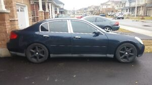 2003 Infiniti G35 Loaded Black Leather Sedan