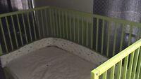 Crib and mattress$150.00  -moving out ,need to go