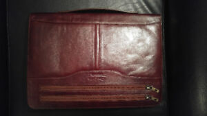 New Genuine Leather Writing Pad Portfolio Business Case
