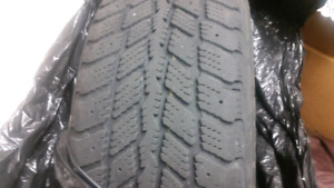 Vw winter tires with steel rims