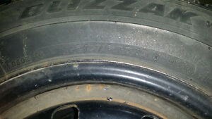 Goodyear Blizzak Winter Tires excellent cond low kms 215 60 r15 London Ontario image 2