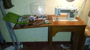 Sewing machine with table and lots of extras!