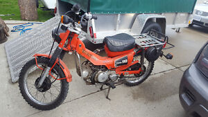 REDUCED - 1981 Honda CT 110 Trail