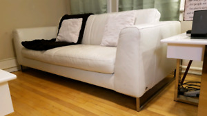 Leather couch - Italsofa