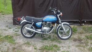 1978 Hondamatic cb400a - 2450 kms