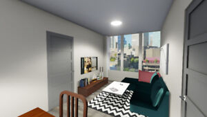 New student residence in Ottawa - 1-4 bedrooms suites