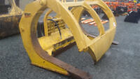 Log Grapple for a Komatsu 450-6 Wheel Loader