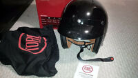 Helmet, for ATV or snowmobile, large, brand new in box, black wi