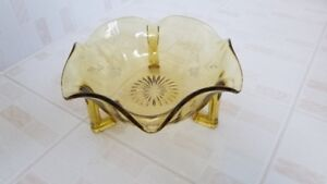 Vintage Footed Dish