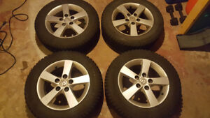 195 65 R15 Mazda 3 Rims and WINTER Tires