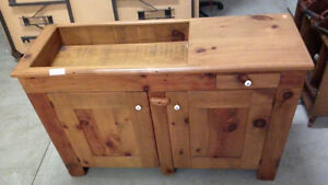 Pine Dry Sink Stand