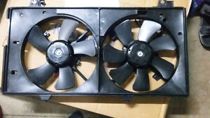 Dual Fan Cooling Assembly