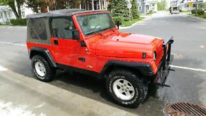 Jeep TJ L6 1997 4100$ nego.