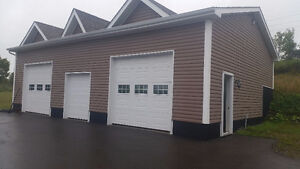 Storage Space For Rent With 3 Garage Doors Heated!