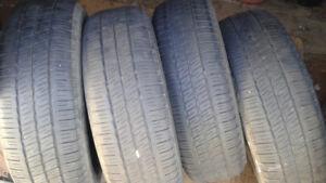 4 pneus d été  Goodyear 185 60 15  80 $,,514 571 6904