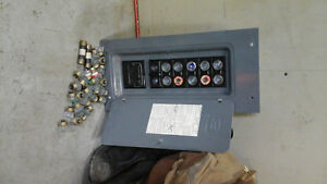 distribution panel 60 apt fused with all the fuses +28 extra fus