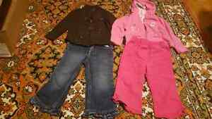 18-24 month autumn/ winter clothing for girl.