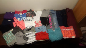 Huge lot of Womens brand name clothing!