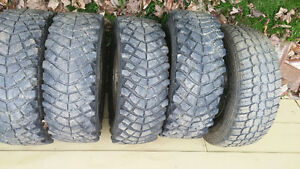 31 10.5 15 tires on old jeep rims