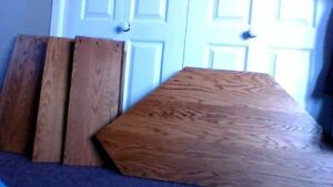 Stained Oak pieces