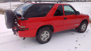 2005 Chevrolet Blazer LS SUV, Crossover Prince George British Columbia image 2