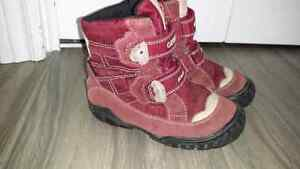 Geox girls high top shoes size 8.5