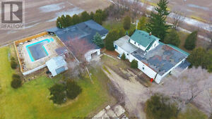 Nice farm house with more than 10 parking--August 1