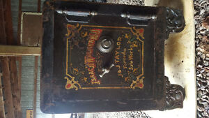Antique J&J Taylor safe