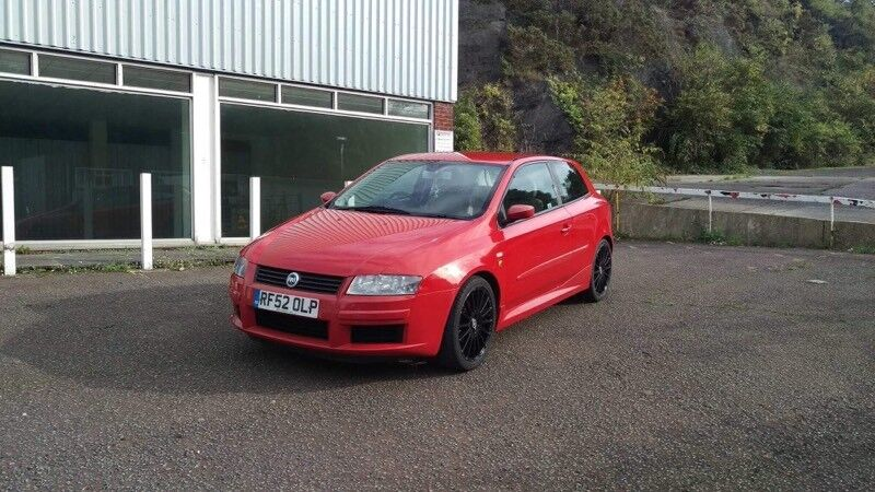 fiat stilo abarth 2 4 20v rosso red in torquay devon gumtree. Black Bedroom Furniture Sets. Home Design Ideas