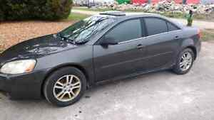 2005 Pontiac G6 for parts slid into ditch V6 automatic