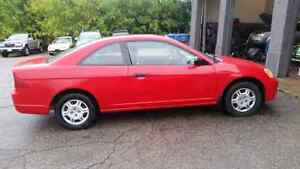 2002 Honda  Civic Coupe  1320000km Including  tax