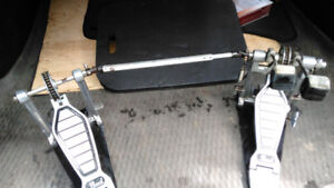 Pearl p100-tw double bass pedals