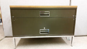 Filing Cabinet two drawer metal legal size