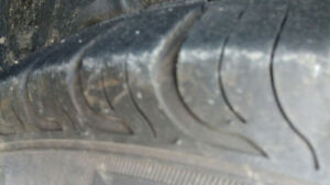 205 55 16 STUDDED WINTER TIRES