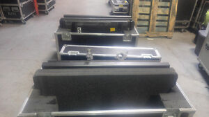 """Two 40"""" TVs & Road Case"""