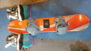 Snowboard&boots