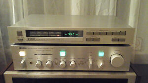 Yamaha A-760 Amplifier w\ T-15 Tuner