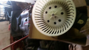 Chevy Truck fan motor