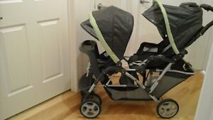 Poussette double Graco DuoGlider Tandem Stroller