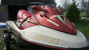 SEA DOO BOMBARDIER GTX LIMITED