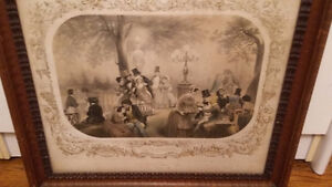 Engravings, French, Antique, 19th Century