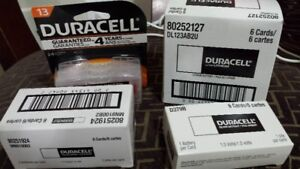 Duracell & Energizer AA, AAA, Hearing aid & other batteries