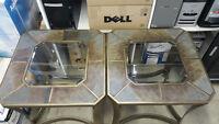2 x tables de haut qualité à vendre pour salon ou sous sol!