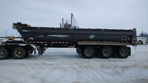 End Dump Tri Axle Trailers For Sale