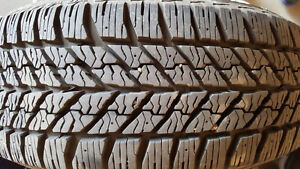 FOR SALE:  4-17inch Winter Tires and Rims