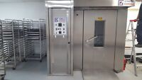 CINELLI ROTARY RACK OVEN BAKERY EQUIPMENT